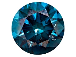DLR084<br>Blue Diamond Min .60ct Mm Varies Round