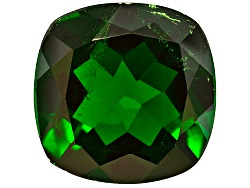 DIC041<br>Russian Chrome Diopside Avg 4.75ct 11x11mm Square Cushion