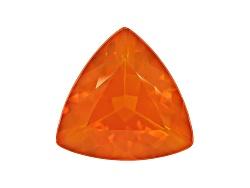 FOT224<br>Colheita Fire Opal(Tm) Brasa Color Avg 6.50ct 15mm Trillion