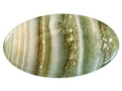 CAV025<br>Uruguay Chalcedony Avg 9.50ct 21x12mm Oval Cabochon Colors Vary