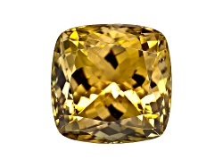 GZC012<br>Untreated Tanzanian Golden Zoisite 11.65ct 12.5x12.5mm Square Cushion