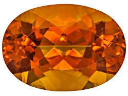 CSV010<br>Madeira Citrine Avg 4.75ct 14x10mm Oval