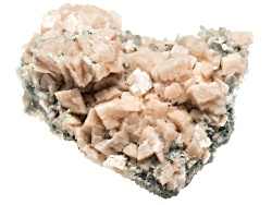 SCK018<br>Shangbao Mine Pink Dolomite On Quartz Approximately 3x4 Inch To 5x6 Inch Free Form Crystal