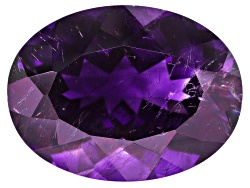 MYV043<br>Moroccan Amethyst With Needles Avg 9.50ct 16.5x12.5mm Oval