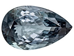 XTP131<br>Grayish Blue Tourmaline 13.65ct 20.76x12.95mm Pear Shape Comes