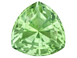 XTP299<br>Afghan Untreated Yellowish Green Tourmaline 2.21ct 8.35x8.42mm Trillion Gemworld Report