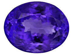 NTV430<br>Tanzanite Min 6.00ct 12x10mm Oval