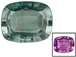 AXC048<br>Brazilian Alexandrite Min .25ct Mm Varies Rectangular Cushion Moderate Color Change