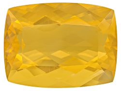 FOC506<br>Colheita Fire Opal(Tm) Canary Color Avg 13.00ct 20x15mm Rectangular Cushion