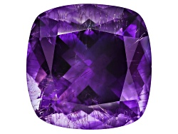 MYC498<br>Moroccan Amethyst With Needles Avg 11.00ct 14.5x14.5mm Square Cushion