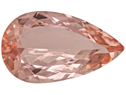 MGP389<br>Cor-de-rosa Morganite(Tm) Avg 4.25ct 15x9mm Pear Shape