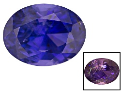 XTP1156<br>Sri Lankan Color Shift Sapphire 3.74ct 9.80x7.47x6.33mm Oval With S.G.L. Report / C. Lync
