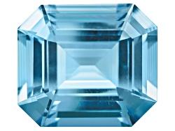 XTP1184<br>Madagascan Untreated Aquamarine 7.35ct 13.47x11.94x7.49mm Emerald Cut