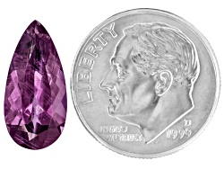 XTP1405<br>Vietnamese Purple Spinel 4.11ct 15.5x7.6mm Pear Shape