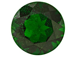 CDR437<br>Russian Chrome Diopside Avg 4.25ct 10mm Round