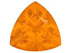 FOT355<br>Colheita Fire Opal(Tm) Brasa Color 33.65ct  26mm Trillion
