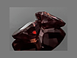 RZT033<br>Tanzanian Red Zircon Matched Pair Of Avg 2.25ctw 6mm Trillion