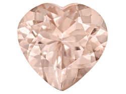 EXK1438<br>Cor-de-rosa Morganite(Tm) Avg 2.75ct 10x10mm Heart Shape