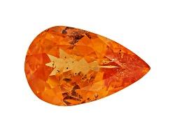 ZSP019<br>Serengeti Spessartite(Tm) Garnet Min 2.25ct 11x7mm Pear Shape