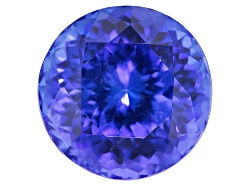 NTR256<br>Tanzanite 5.85ct 10.5mm Round With Stone Group Lab Report And Craig Lynch Appraisal