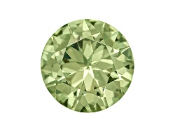 DMR945<br>Green Dragon Mine Demantoid Garnet Min .25ct 4mm Round Diamond Cut