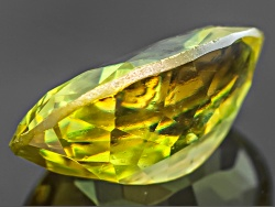 OBV165<br>Madagascan Sphene Min .65ct 7x5mm Oval