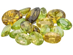 GP6244<br>Madagascan Sphene Parcel Of 10.00ctw Mm Varies Mixed Oval