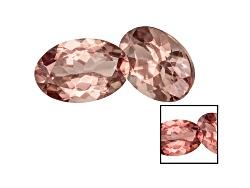 GA071<br>Masasi Bordeaux Reserve Garnet(Tm) Color Shift 1.00ctw Min 6x4mm Oval Matched Set