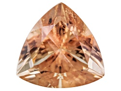 SN094<br>Red Oregon Sunstone From Butte Mine 2.50ct Minimum 10mm Trillion Brilliant Cut Color Varies