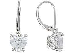 RRB333<br>Remy Rotenier For Bella Luce (R) 5.85ctw, White Diamond Simulant Rhodium Over S/S Earrings
