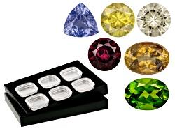 GKT1300<br>Collector's Kit With Tray: Sphene, Vesuvianite, Tanzanite, Zultanite, Anthill Garnet, And
