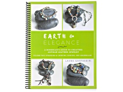 BOOK187<br>Earth & Elegance Volume 2: Leather And Stringing By Laura Gasparrini 11 Projects 146 Page