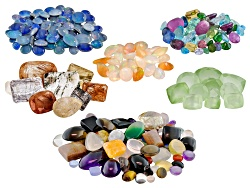 GCK023<br>1,000.00ctw Mixed Faceted Gemstones And Cabochons